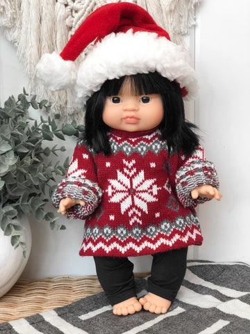 Red Sweater - Doll