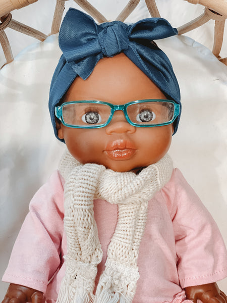 Teal Glasses - DOLL