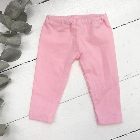 Solid Pink Pants - Doll