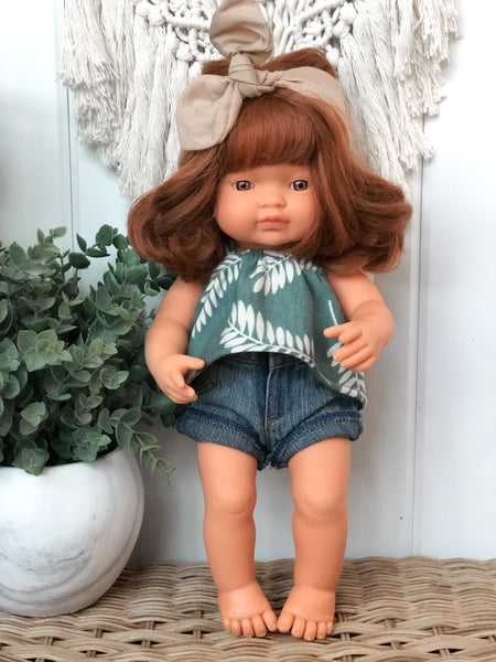 Kylie - Miniland Girl Doll