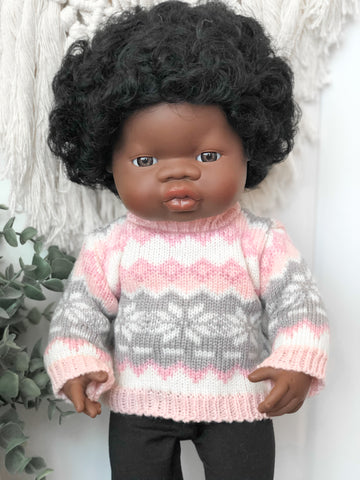 Pink Sweater - Doll