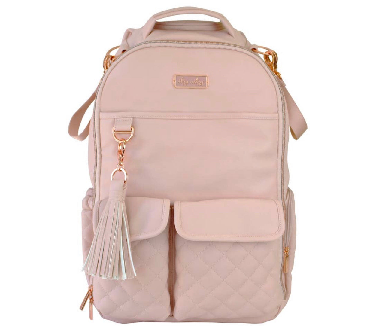 Blush Crush Boss Diaper Bag Backpack