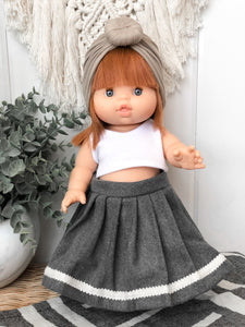 Pleated Skirt - Doll