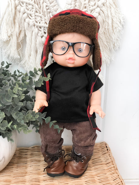 Brown Corduroy Pants - Doll
