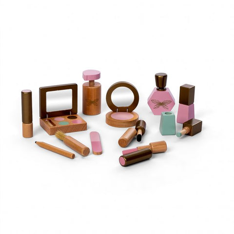Wood Makeup Set