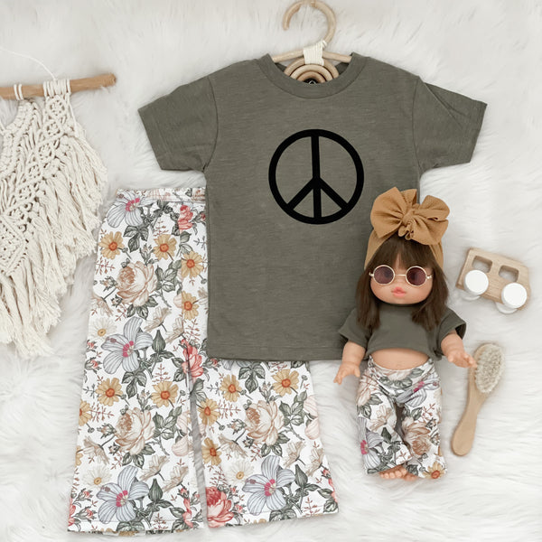 Nora Floral Pants - Doll