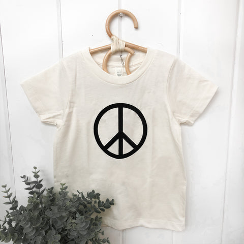 Peace - Natural T-Shirt