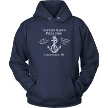 Load image into Gallery viewer, Captain Karl's Pizza Ship Hoodie