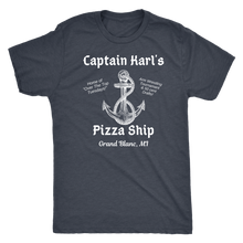 Load image into Gallery viewer, Captain Karl's Pizza Ship Tee (4 colors available)