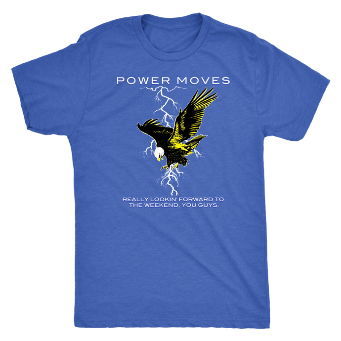 POWER MOVES Tour Tee
