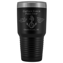 Load image into Gallery viewer, Captain Karl's Pizza Ship 30oz. Tumbler