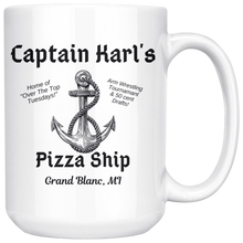 Load image into Gallery viewer, Captain Karl's Pizza Ship 15oz Mug
