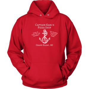Captain Karl's Pizza Ship Hoodie