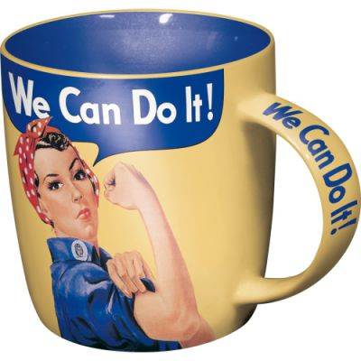 We Can Do It - Kaffeetasse