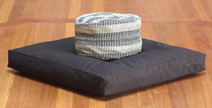 Organic Buckwheat Meditation Cushion