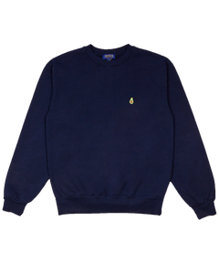 NAVY BLUE SWEATSHIRT WITH AVOCADO