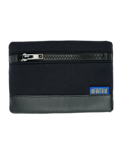 BLACK SMALL ZIPPER POUCH