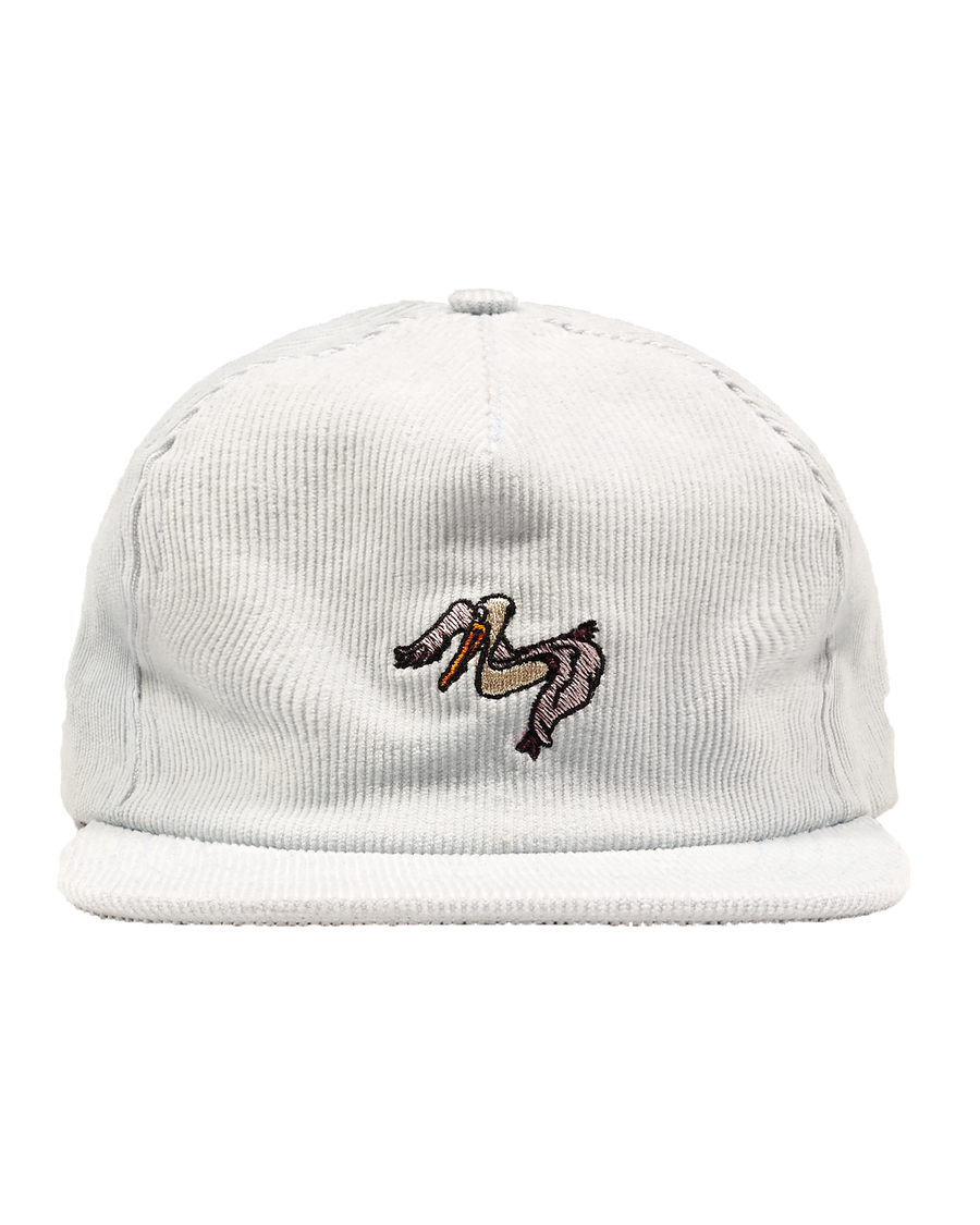 LIGHT BLUE CAP WITH PELICAN