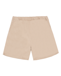KHAKI COTTON WALK SHORTS