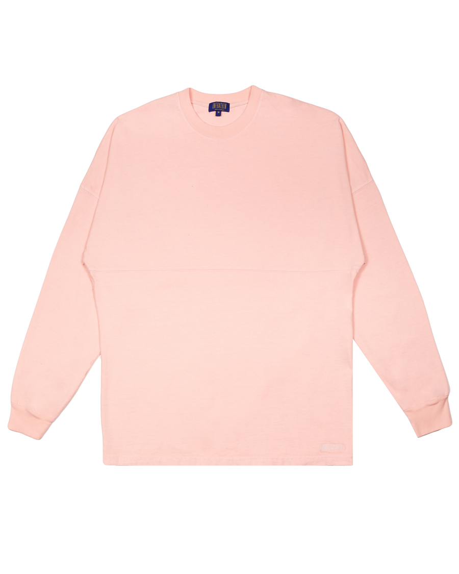 LIGHT PINK OVERSIZED LONG SLEEVE