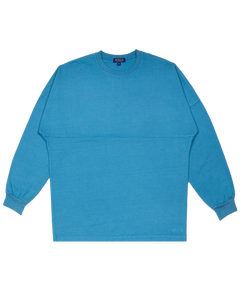 PACIFIC BLUE OVERSIZED LONG SLEEVE