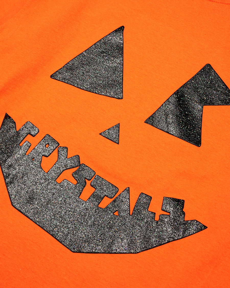 INFRATHIN x ADVISORY BOARD CRYSTALS HALLOWEEN LONG SLEEVE (PUMPKIN)