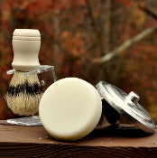 {3} Men's Shaving Pucks - and/or - {1} Shave Puck & Tin