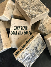 Load image into Gallery viewer, Java Bean Goat Milk Soap {4oz}