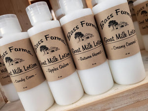 Fall/Winter Holiday Goat Milk Lotion