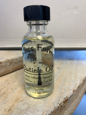 Cuticle Oil {1oz & Gallon}
