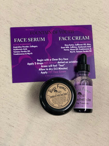 Fountain of Youth Face Products