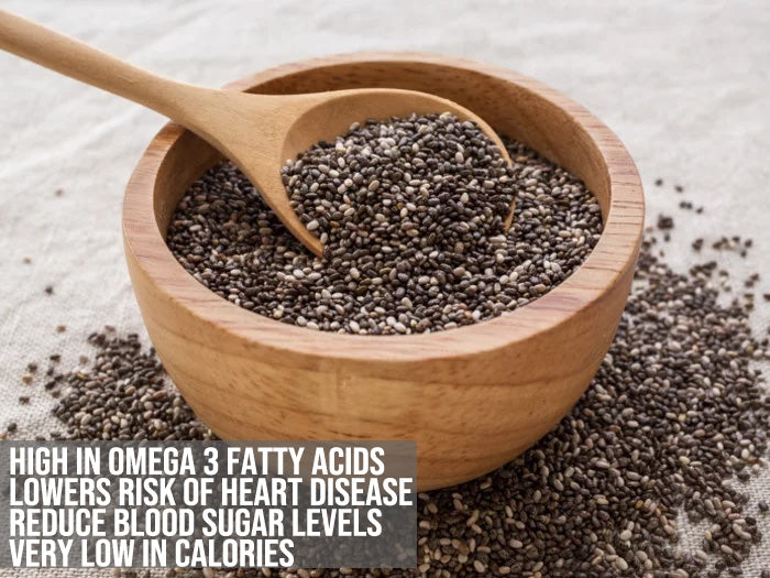 Inulin Fiber with Chia Seeds