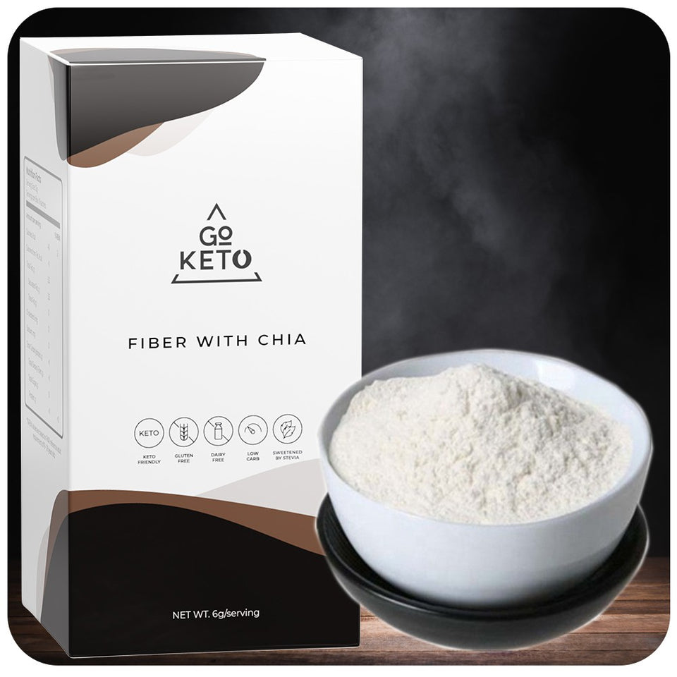 GoKeto Inulin Fiber with Chia Seeds (10 Sachets)