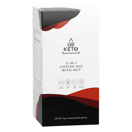 GoKeto 3 in 1 Coffee - Go Keto Philippines