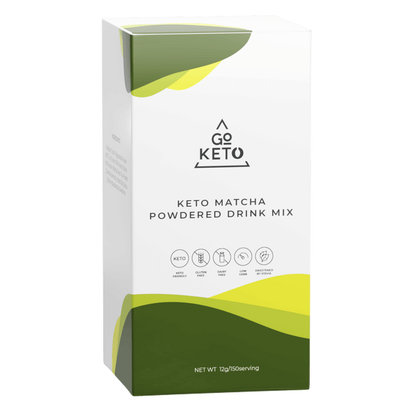 GoKeto Matcha Drink Mix - Go Keto Philippines