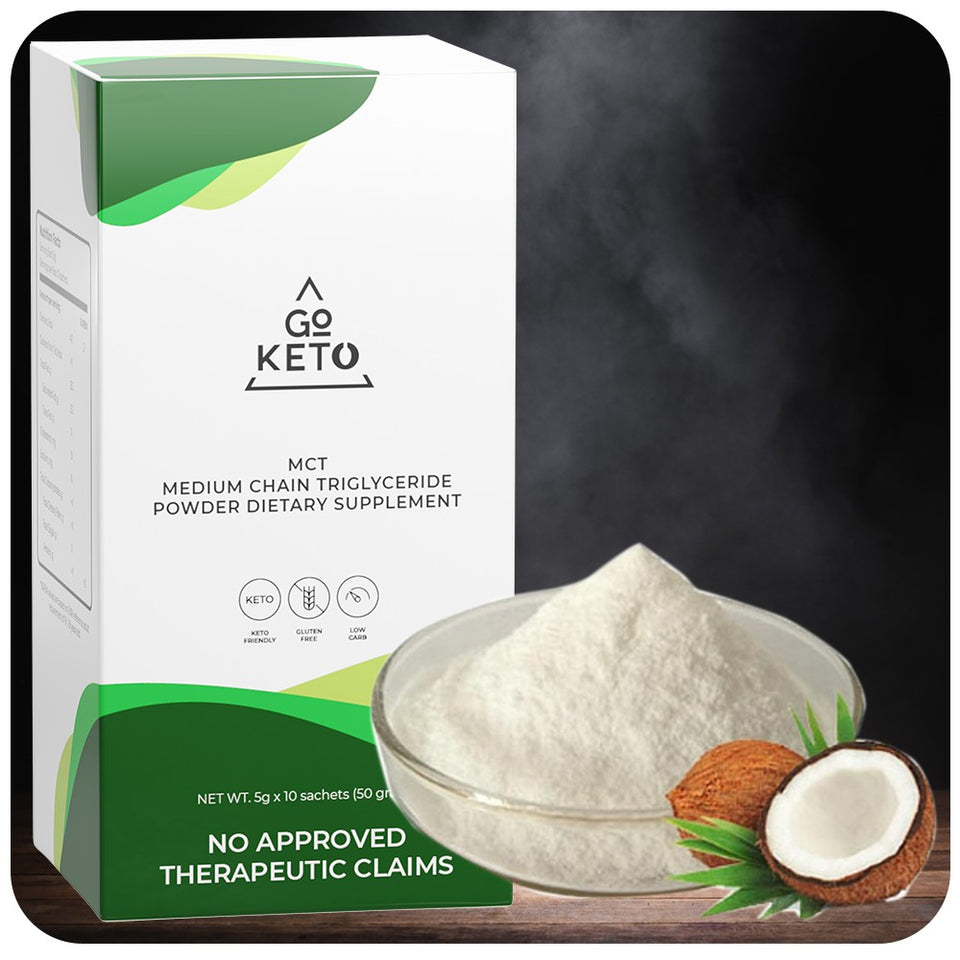 GoKeto MCT Powder Pack Buy 1 Take 1