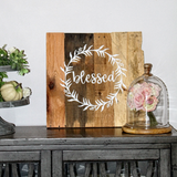 "Square Reclaimed Pallet Sign (16"" x 16"")"