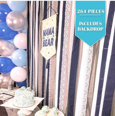 264 Piece | It's a Boy Party Pack - Service for 24