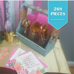 268 Piece | Sweet Baby Party Pack - Service for 24