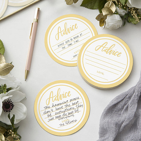 David Tutera™ Advice Coasters