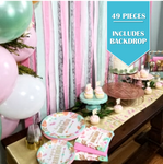 49 Piece | Boho Birthday Decorating Kit