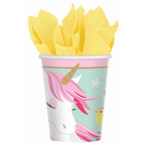 8 Count | Unicorn Paper Cups