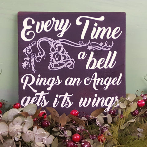 Wall Plaque | Every Time a Bell Rings