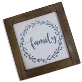 "Farmhouse Signs | Set of 4 | 12"" Square 