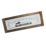 Farm Fresh Christmas Trees Sign | Farmhouse Style | 2 Feet Long