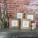 Holiday Minis | Farmhouse Style | Set of 4