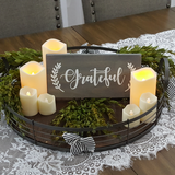 Decorative Wood Plaque | Grateful