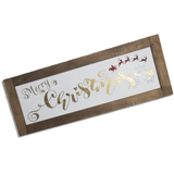Merry Christmas Sign | Farmhouse Style | 2 Feet Long