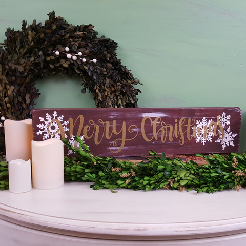 Wall Plaque | Merry Christmas