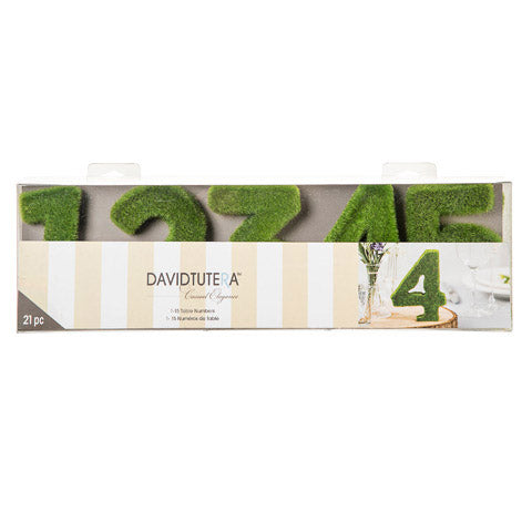 David Tutera™ Green Moss Table Numbers